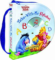 Disney Winnie the Pooh Take-With-Me Alphabet (Zip & Carry book with audio CD) (Disney Early Learning)