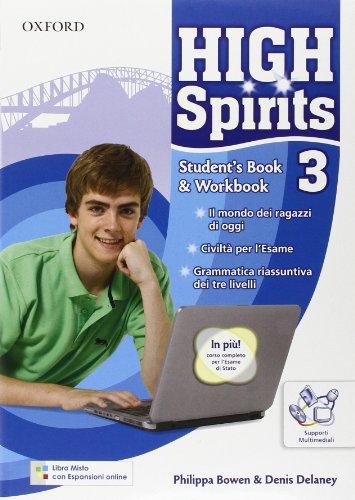 High spirits. Student's book-Workbook-Extra book. Con espansione online. Per la Scuola media. Con CD-ROM: 3