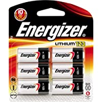 6-Pack Energizer 123 Lithium Battery