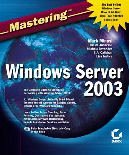 Mastering Windows Server 2003 (Windows Server 2003 compare prices)