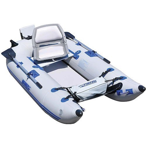 Sale sea eagle 285fpb inflatable pontoon boat pro for Inflatable fishing pontoon
