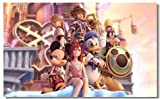 Kingdom Hearts 1 2 3 Game Fabric Poster Print 21 x 13″ Reviews