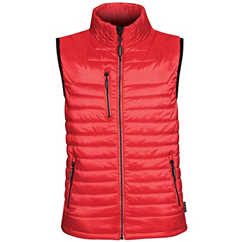 Stormtech Mens Gravity Thermal Vest/Gilet (M) (True Red/ Black) Quilted Thermal Vest