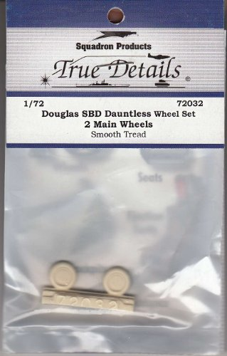 True Details SBD Dauntless Wheel Set