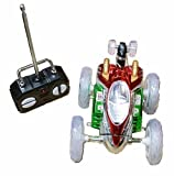 Turbo Twister Radio Control Stunt Car with Lights R/C Remote Control Spinning Car with Lights
