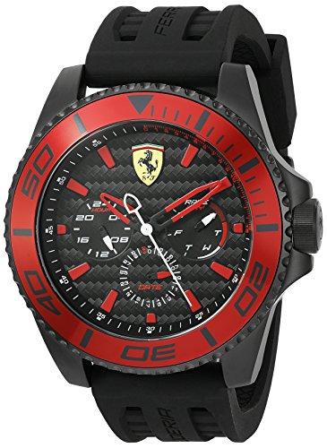 Ferrari De los hombres Scuderia Analógico Dress Cuarzo Reloj 0830310