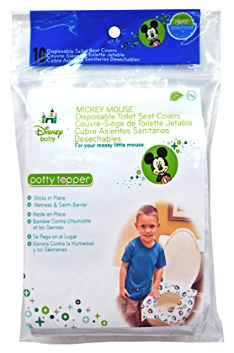 Neat Solutions Disney Potty Topper, Mickey Mouse, 10 Count - 1