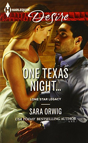 Image of One Texas Night... (Harlequin Desire\Lone Star Legacy)