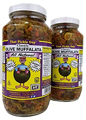 2 Pack That Pickle Guy Classic Olive Muffalata (2 X 24oz) from That Pickle Guy