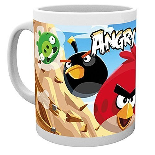 GB eye, Angry Birds, Destroy, Tazza