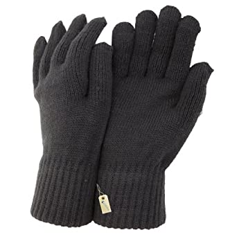 - Mens Winter Gloves (One Size) (Black) at Amazon Men's