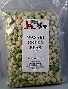 Wasabi Peas 8 Oz by Barry Farm