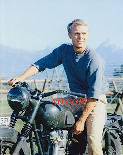 sp:大きな写真「大脱走」マックイーン、バイクのアップ