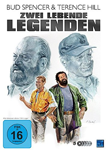 Bud Spencer & Terence Hill - Zwei lebende Legenden [5 DVDs]