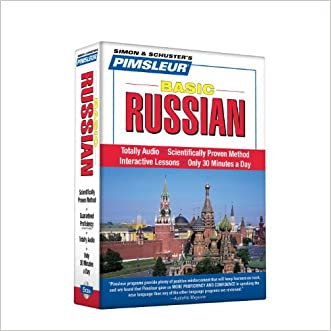 Pimsleur Russian Basic Course - Level 1 Lessons 1-10 CD: Learn to Speak and Understand Russian with Pimsleur Language Programs written by Pimsleur