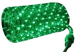 Good Tidings LED00142 LED Rope Christmas Light  , Green
