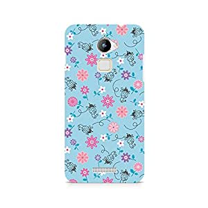 Mobicture Floral Girly Wall Premium Printed Case For Coolpad Note 3 Lite