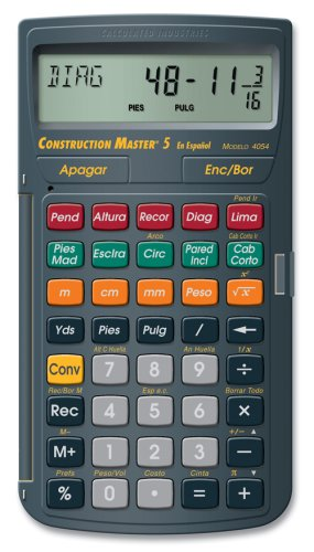 Calculated industries 4054 construction master 5 en for Home construction calculator