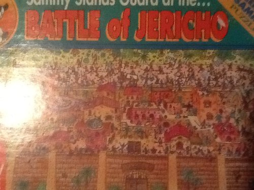 Sammy Stands Guard At the Battle of Jericho, 24 Piece Childrens Puzzle - 1