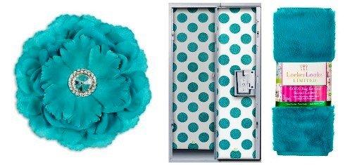 Locker Lookz Wallpaper Rug Flower Magnet, Blue, Back To School Bundle