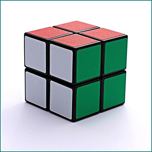 Shengshou Frosted Sticker 2x2x2 Puzzle Magic Cube Black