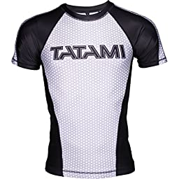 Tatami IBJJF Shortsleeve Rashguard - White - Medium