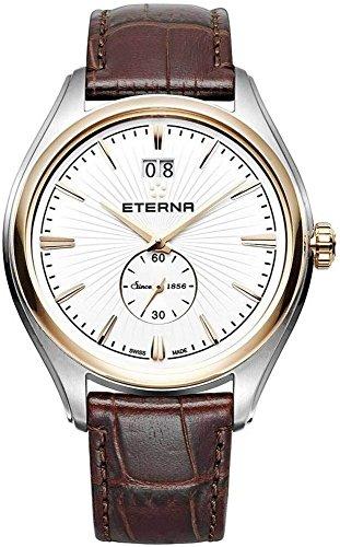 Siempre a la vanguardia de Eterna reloj de cuarzo, de acero inoxidable, de color blanco 2545,53,61,1339