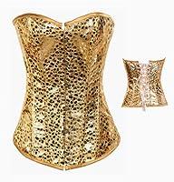 Dissa Noble Golden Yellow Bustier Corset,Gold