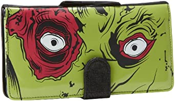Iron Fist Bags Zombie Chomper IFLWAL10904SMU Wallet,Lime,One Size