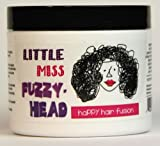 Little Miss Fuzzy Head® - Happy Hair Fusion 8 oz: Natural [Vegan] Moisturizing Curly Creme for Dry, Thick Curly Hair