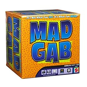 Mad Gab board game!