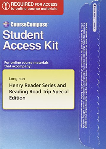 Henry Reader Series + RRT Special Edition CourseCompass Student Access Code Card