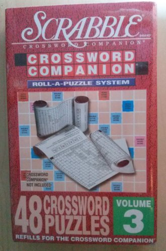 SCRABBLE CROSSWORD COMPANION Roll-A-Puzzle System Refills - Vol. 3 - 48 Puzzles