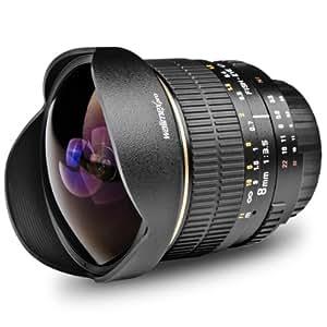 Fish-Eye walimex pro AE 8/3,5 pour Nikon