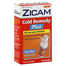 Zicam Cold Remedy Plus, Oral Mist, Arctic Mint Flavor, 1 oz.