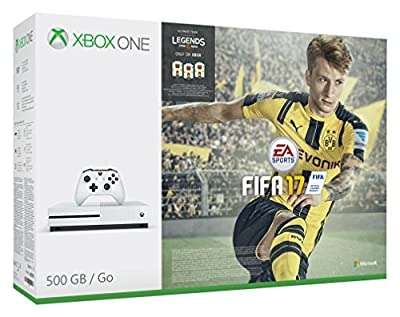 Xbox One S FIFA 17 Console Bundle (500GB)