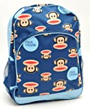 """Back to School - Paul Frank Julius Monkey Head in Blue Large Backpack - Size Approximately 16"""" X 11"""""""