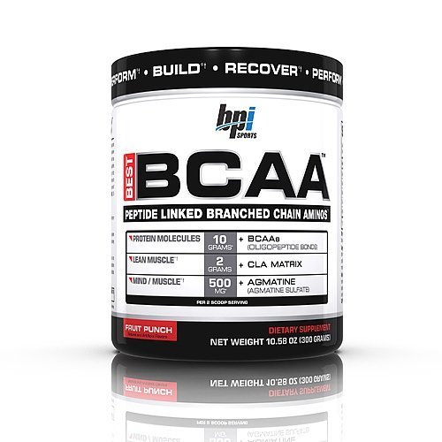 BPI Sports Bpi Sports Best BCAA Post Workout Powders 30 Servings (Fruit Punch)