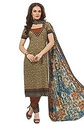 Gugaliya Women's 100 % Cotton UNSTICHED Salwar, Kameez & Dupatta Suit (SJ- 3112)