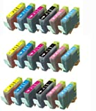 18 Pack (3 each) Ink Cartridges for