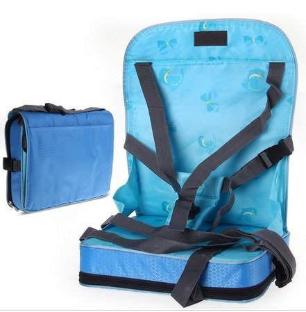 Blue Color Portable Baby Toddler Infant Dining Chair Booster Seat Harness Bag (Combi Car Seat Canopy compare prices)