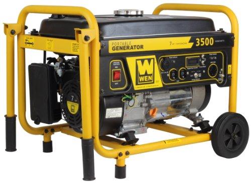 51Pnvxngq5L. SL500  WEN 56352 3500 Watt 212cc 7 HP OHV Gas Powered Portable Generator with Wheel Kit
