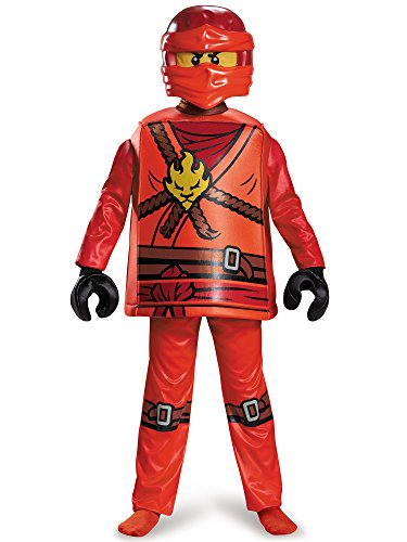Disguise Kai Deluxe Ninjago Lego Costume
