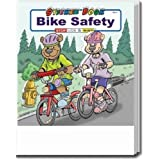 Bike Safety Sticker and Coloring Book