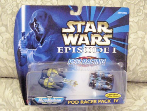 Star Wars Episode I MicroMachines Pod Racer Pack 4 - 1