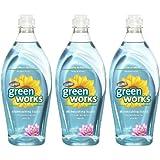 Green Works Dishwashing Liquid - 22 oz - Water Lily - 3 pk