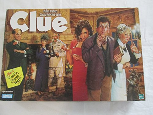 Parker Brothers Classic Detective Game- 1996 Version (Clue Board Game Spanish compare prices)