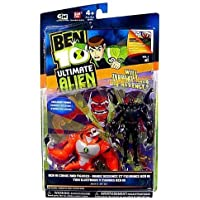 Ben 10 Ultimate Alien Six Six And Rath V.1 Pack Of 2 Action Figures By Bandai By Ben 10