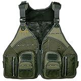 Allen Company Big Horn Fishing Vest, Olive