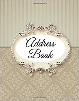 Address Book (Jumbo Address Books) (Volume 1)